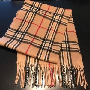 Accessories - NWOT- UNISEX WOOL CASHMERE BLEND SCARF